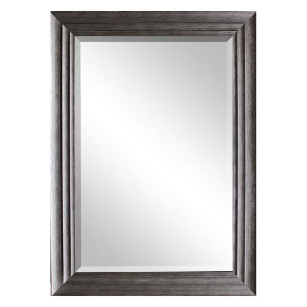 5ab811cdf50daa 31.5 in. x 43.5 in. Silver Decorative Mirror 10954-36-58S - The Home ...