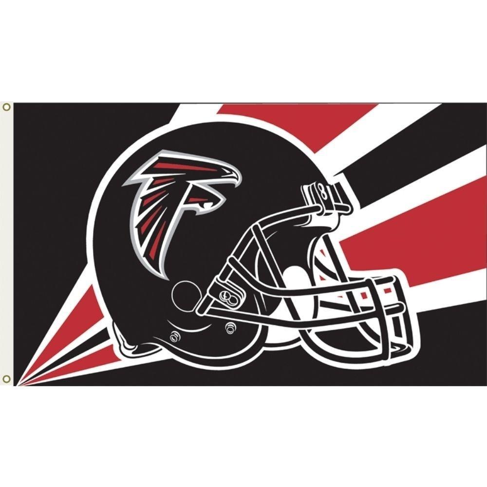 3 ft. x 5 ft. Polyester Atlanta Falcons Flag