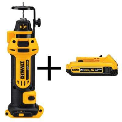 20-Volt MAX Lithium-Ion Cordless Drywall Cut-Out Tool (Tool-Only) with 2Ahr Battery