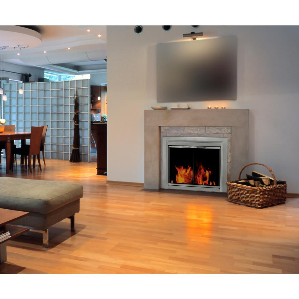 Pleasant Hearth Cb 3300 Colby Fireplace Glass Door