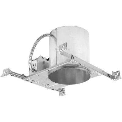 6 in. Metallic New Construction Recessed Housing, Air Tight, IC - for use with Progress LED trims