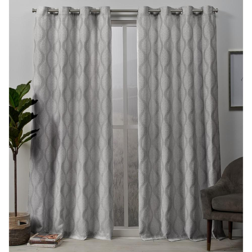 Exclusive Home Curtains Stark 54 In. W X 84 In. L Woven