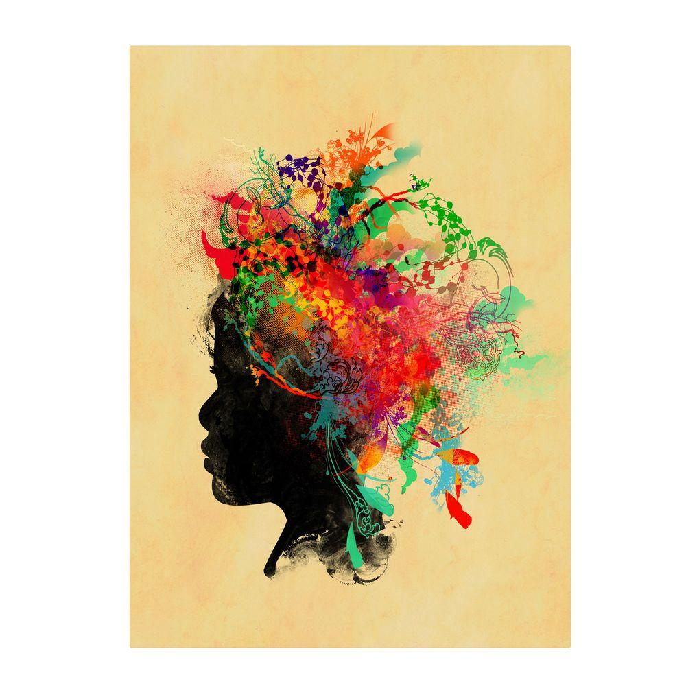 Trademark Fine Art 19 in. x 14 in. Wildchild 2 Canvas Art
