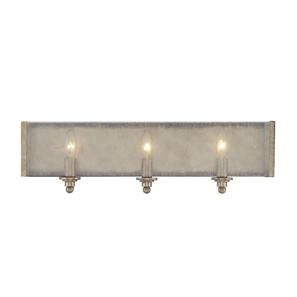 Filament Design Dannelly 3-Light Oxidized Silver Bath Vanity Light