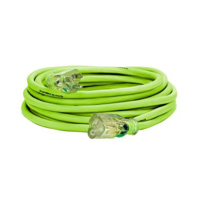 25 ft. 14/3 AWG SJTW Pro Extension Cord with Lighted Plug