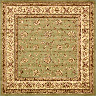 Voyage St. Louis Green 10' 0 x 10' 0 Square Rug