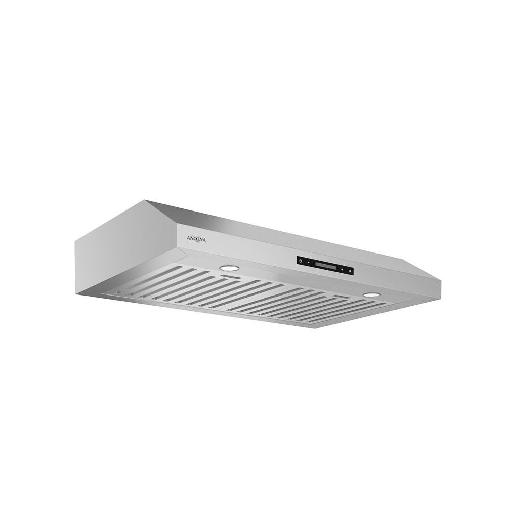 Exceptionnel Ancona Slim Elite 30 In. Under Cabinet Range Hood With LED In Stainless  Steel