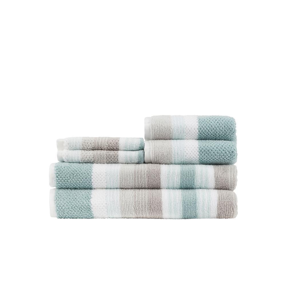 Montauk Seaglass 6-Piece Towel Set