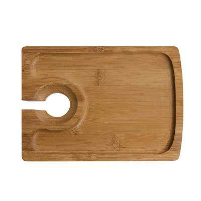 Bamboo Hors D'Oeuvres Plate (Set of 4)