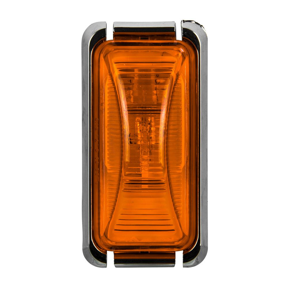 Blazer International Led Trlr Lamp Kit With Back Up C7425 The Home Besides Trailer Lights Wiring Diagram As Well 7 Wire Clearance 2 8 In Mini Rectangular Amber