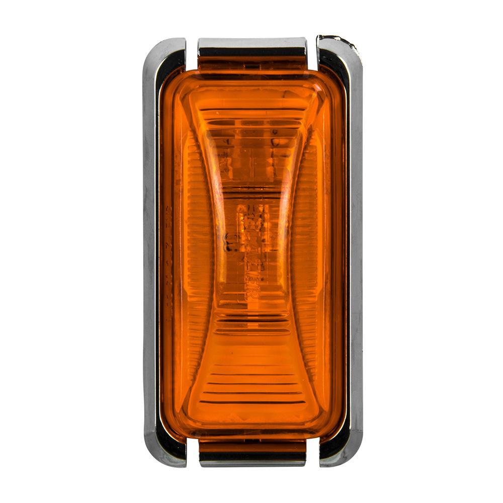 Clearance 2-7/8 in. Mini Rectangular Lamp Amber