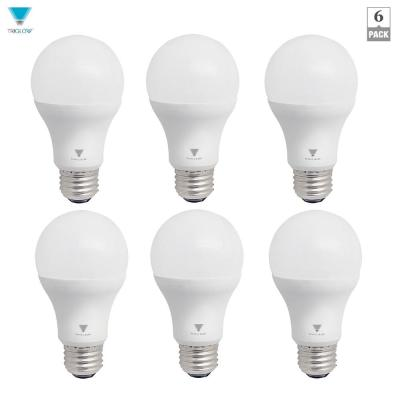 TriGlow 75-Watt Equivalent A19 Dimmable 1,055-Lumens LED Light Bulb Daylight (6-Pack)