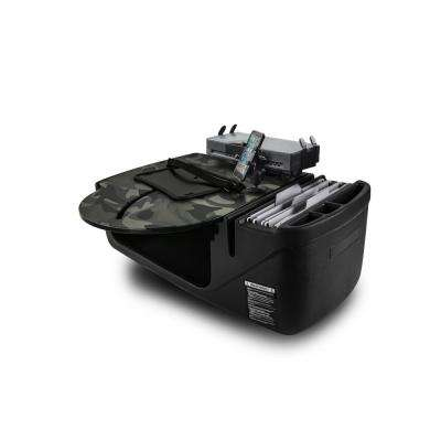 RoadMaster Car Green Camouflage with Built-in Power Inverter, X-Grip Phone Mount and Printer Stand