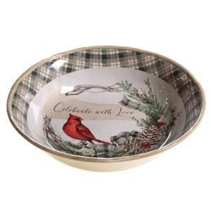14 x 2.75 Multicolor 14 x 2.75 16005 Certified International Gilded Wine Serving//Pasta Bowls