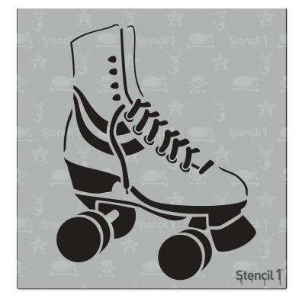 Roller Skate Small Stencil