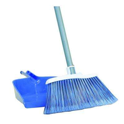 Angle Broom and Dust Pan