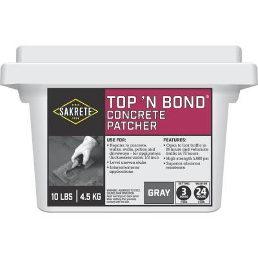 10 lb. Top'n Bond Concrete Patcher
