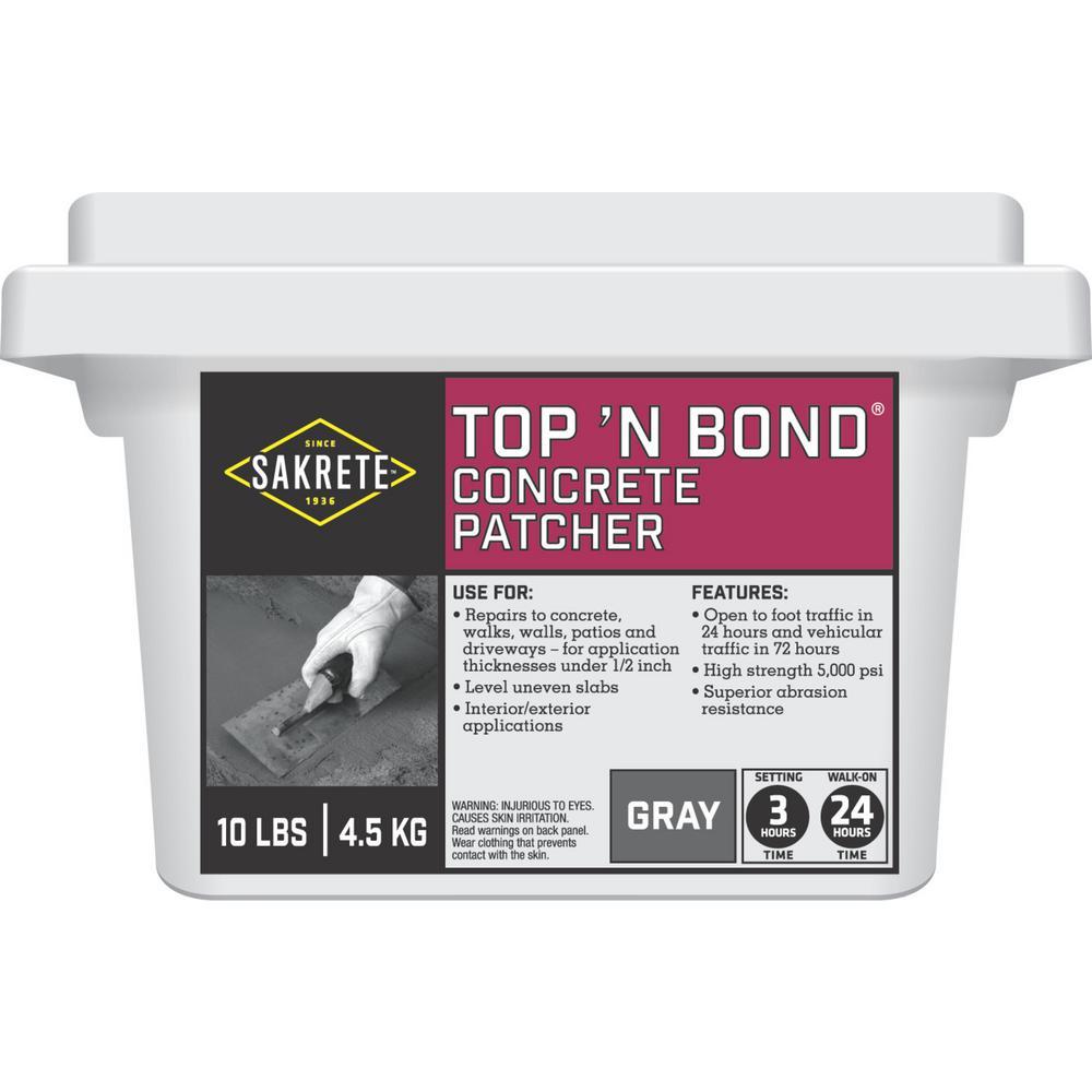 SAKRETE 10 lb. Top'n Bond Concrete Patcher