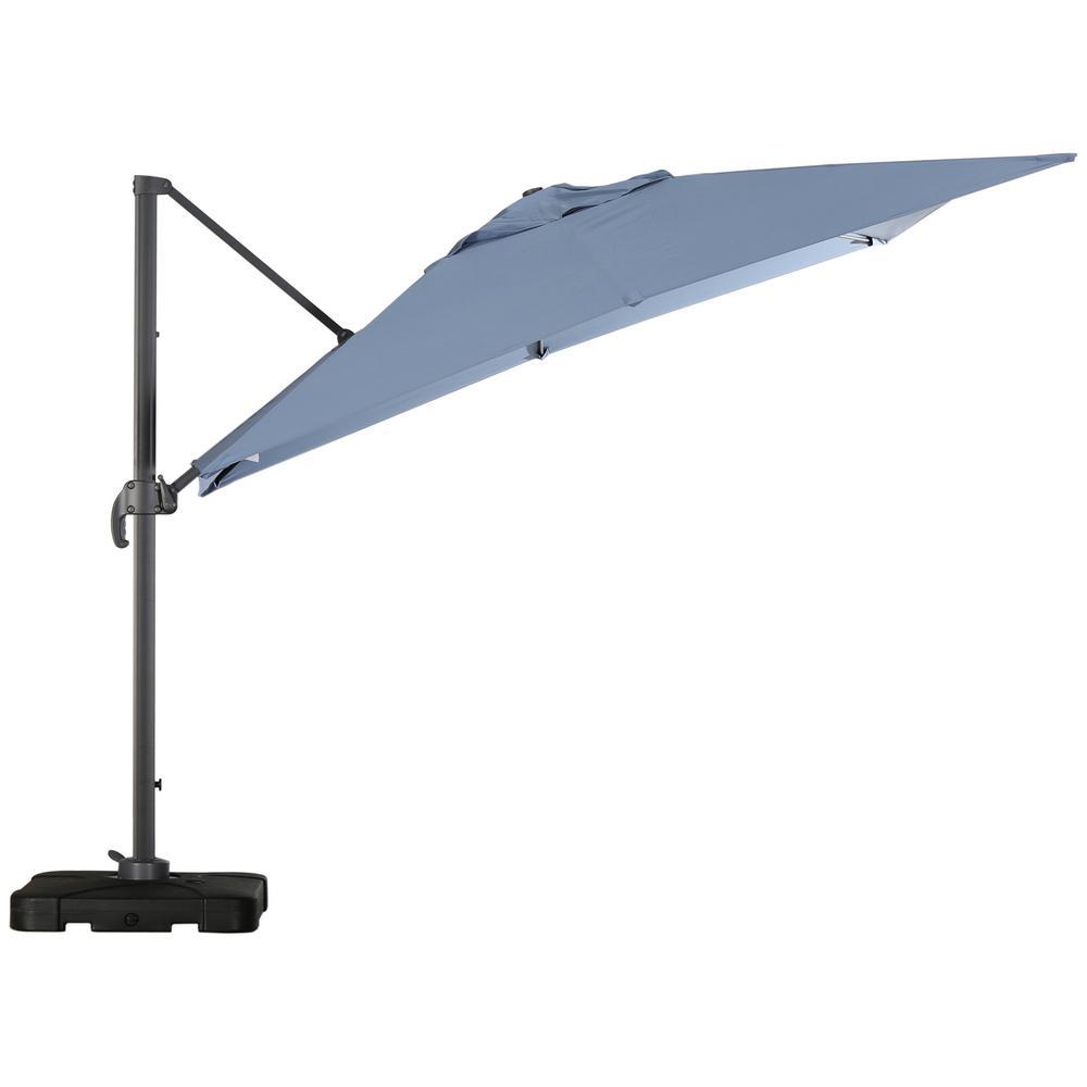 Royal 10 ft. Cantilever Patio Umbrella in Lavender