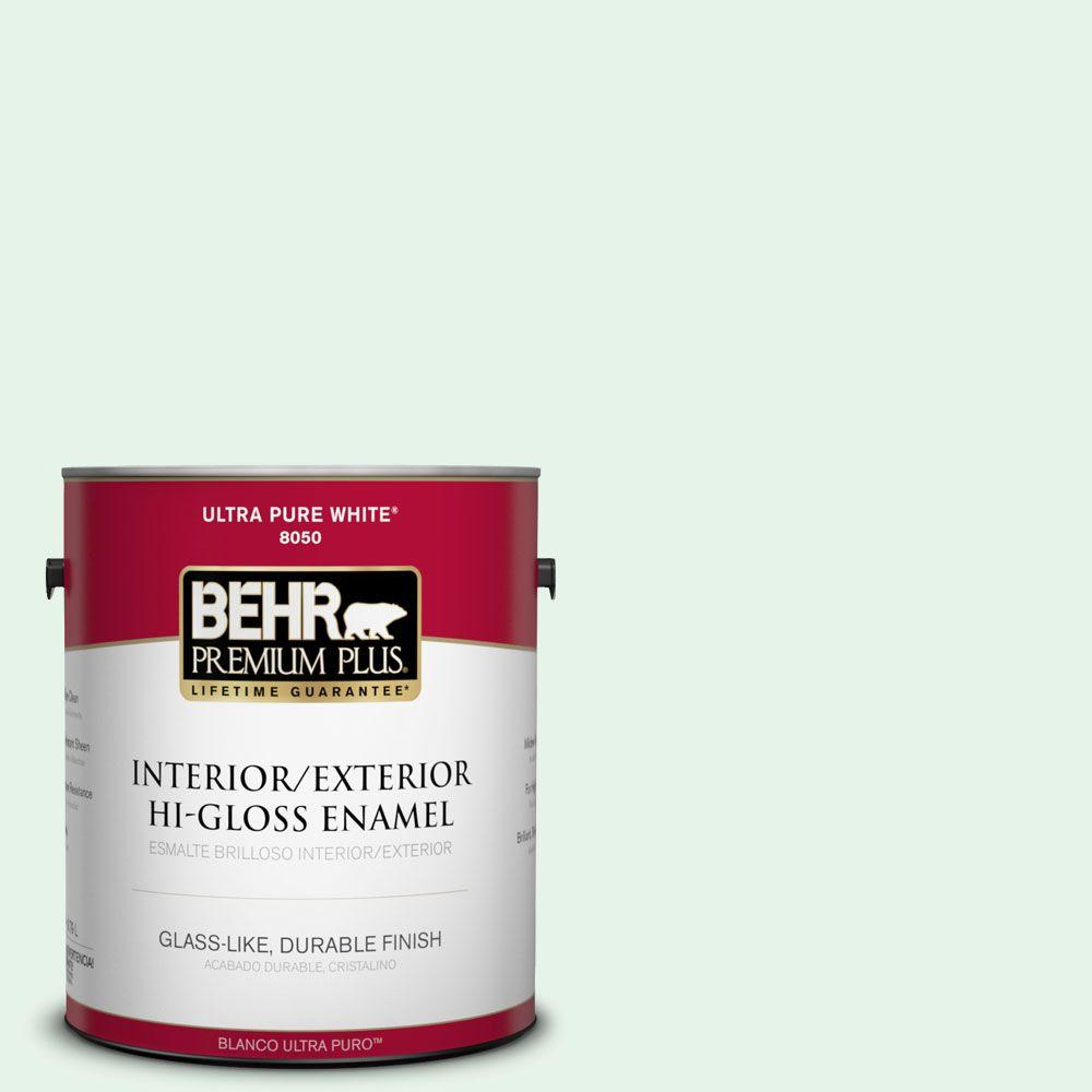 1-gal. #450A-1 Crystal Gem Hi-Gloss Enamel Interior/Exterior Paint