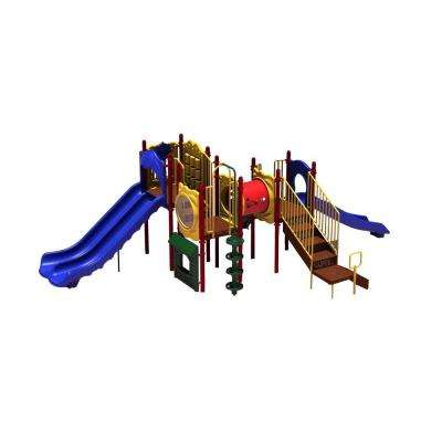 UPlay Today Carson's Canyon (Playful) Commercial Playset with Ground Spike