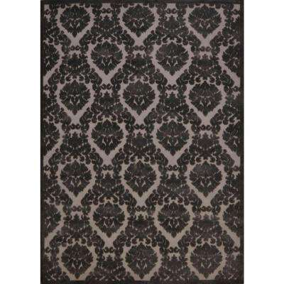 Ultima Silver/Grey 5 ft. 3 in. x 7 ft. 3 in. Area Rug