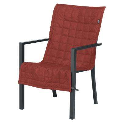 Montlake 45 in. L x 20 in. W Heather Henna Chair Slip Cover