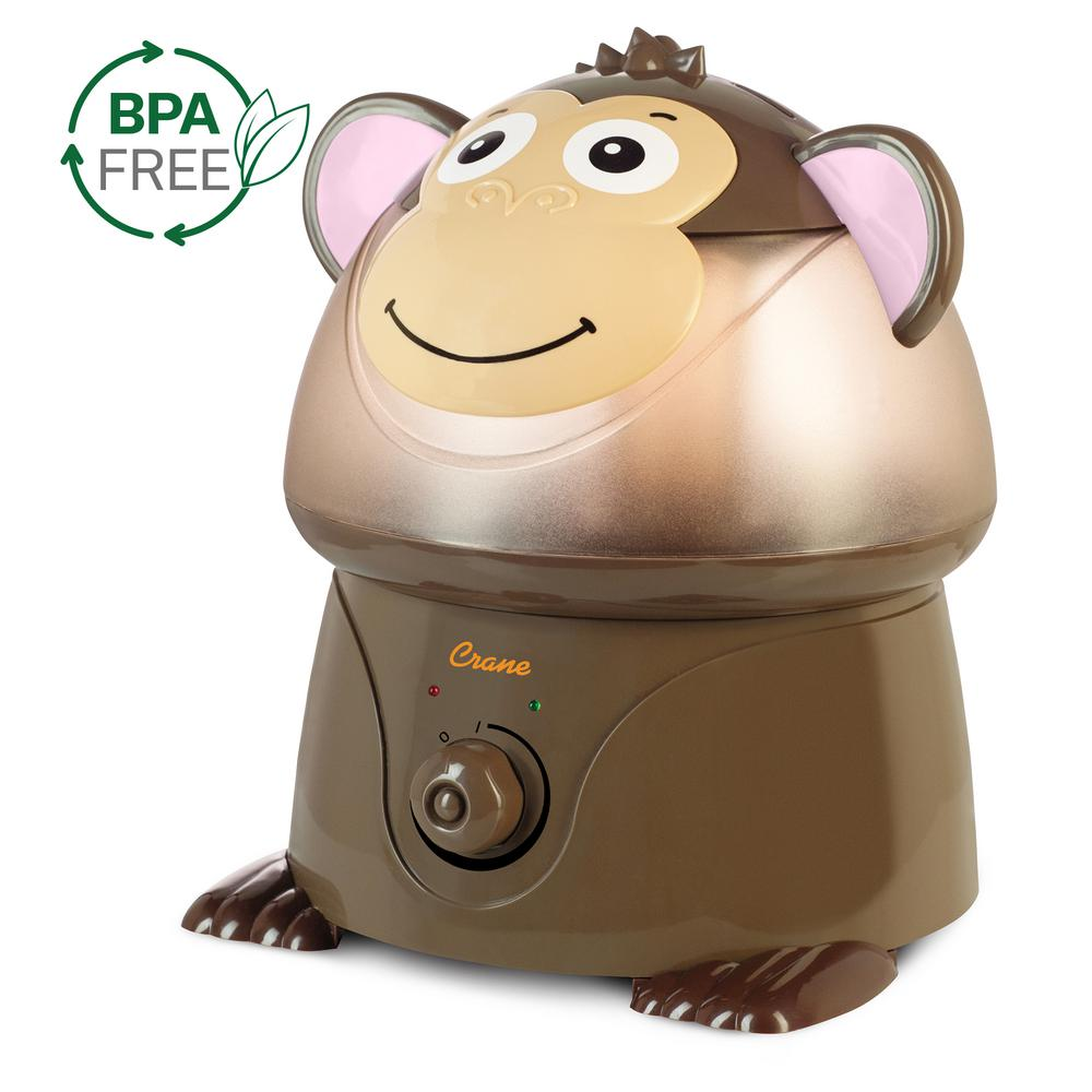 1 Gal. Cool Mist Humidifier, Monkey