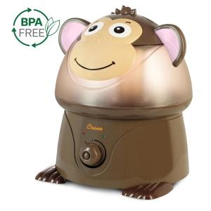 Crane 1 Gal. Cool Mist Humidifier, Monkey by Crane