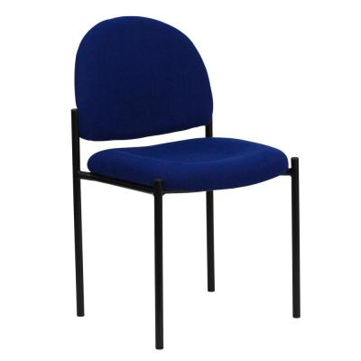Navy Fabric Stack Chair