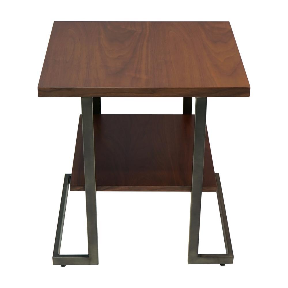 Jordan Medium Walnut Chairside Table