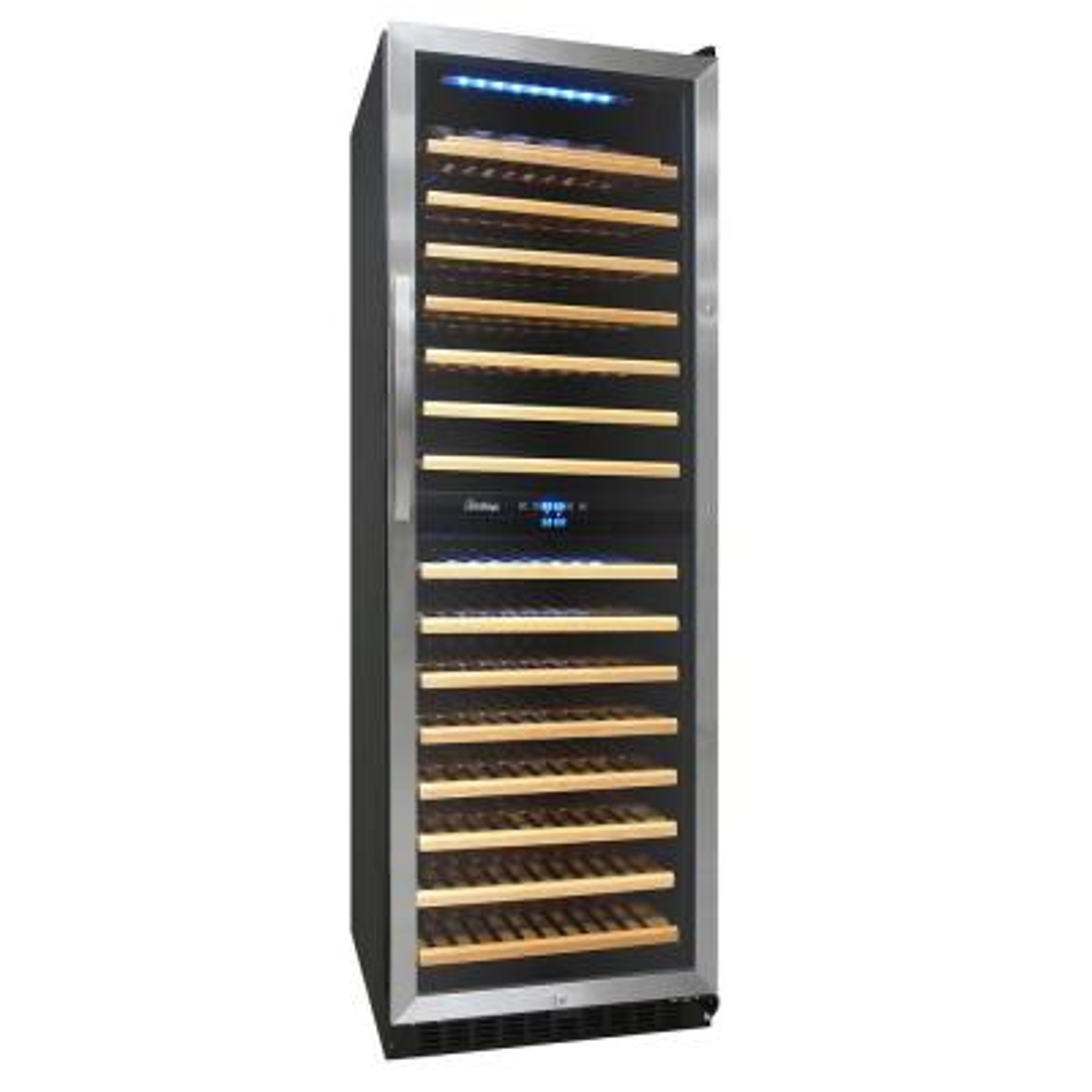 155-Bottle Dual Zone Convertible Wine Cooler