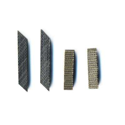 Two 13/64 in. x 13/16 in. and 2 13/64 in. x 1 in. Band Saw Blade Guide Blocks For Most 9 in. Band Saws