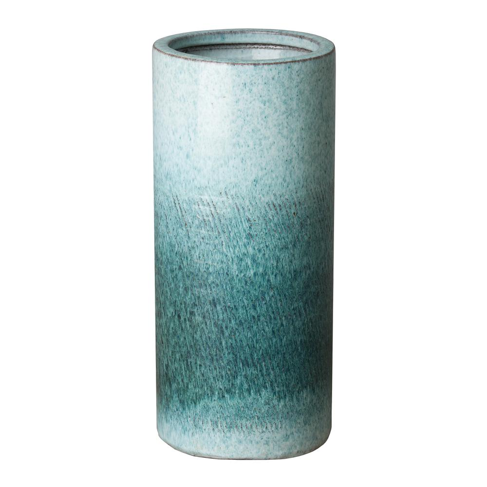 Coastal Splash Ceramic Umbrella Stand