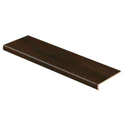 Warm Chestnut 47 in. Length x 12-1/8 in. Depth x 2-3/16 in. Height Laminate to Cover Stairs 1-1/8 in. to 1-3/4 in. Thick