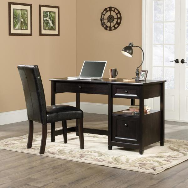 Sauder Edge Water Lift Top Coffee Table Estate Black Finish.Sauder Edge Water Estate Black Lift Top Desk 422377 The Home Depot