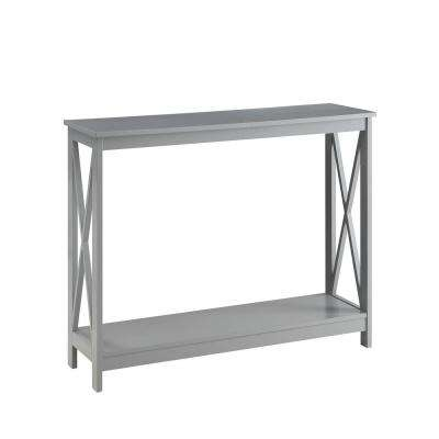 Oxford Gray Console Table