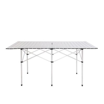 55 in. Aluminum Camping Table Picnic Table