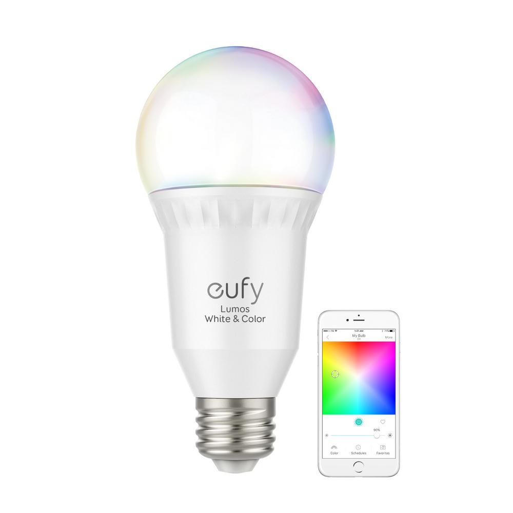 60-Watt Equivalent E26 Dimmable LED Smart Light Bulb White