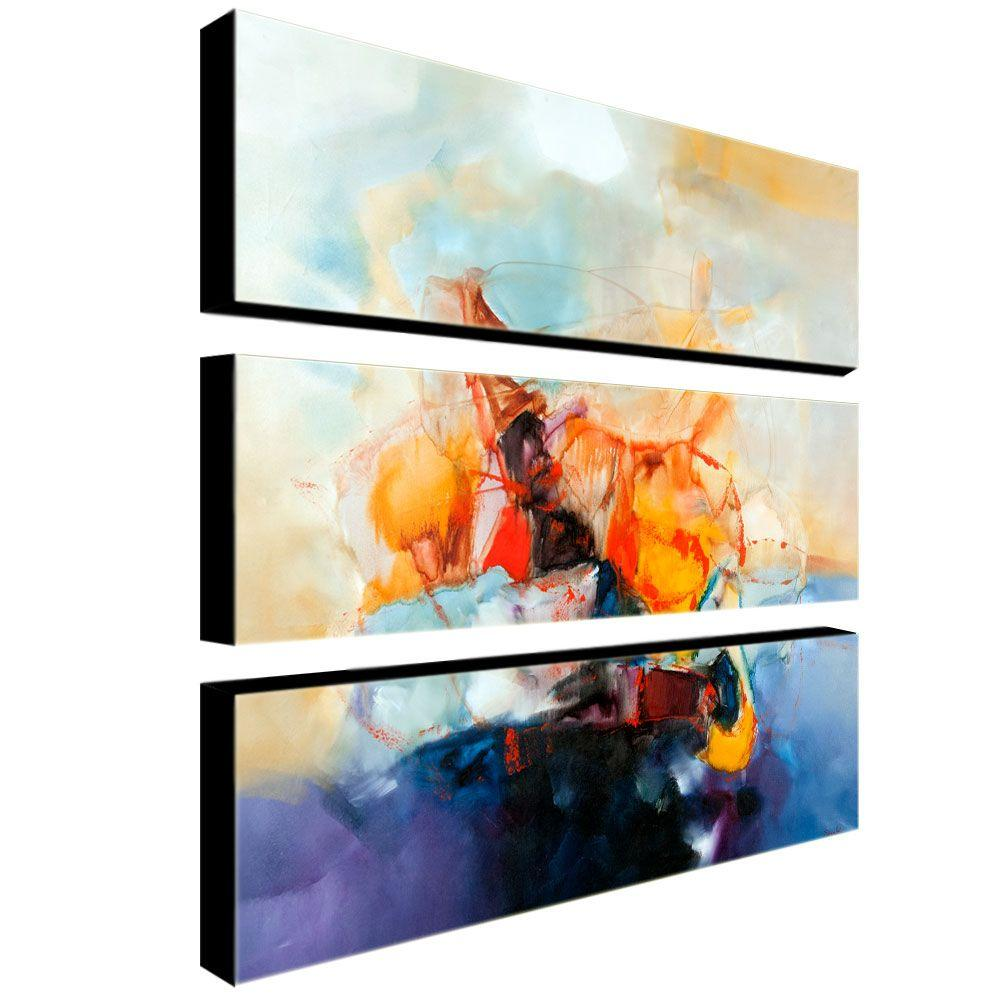 Abstract II by Michelle Calkins 3-Panel Wall Art Set