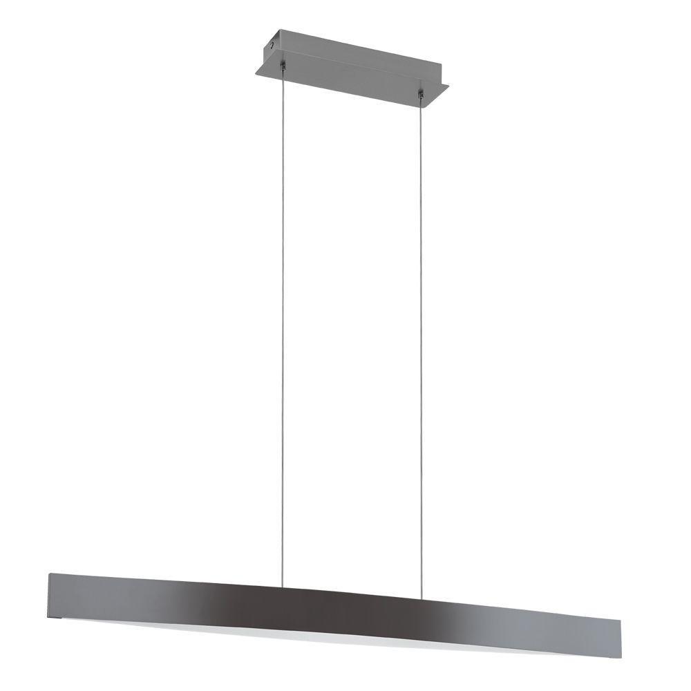 Eglo Fornes 100 Watt Black Integrated LED Pendant 93909A