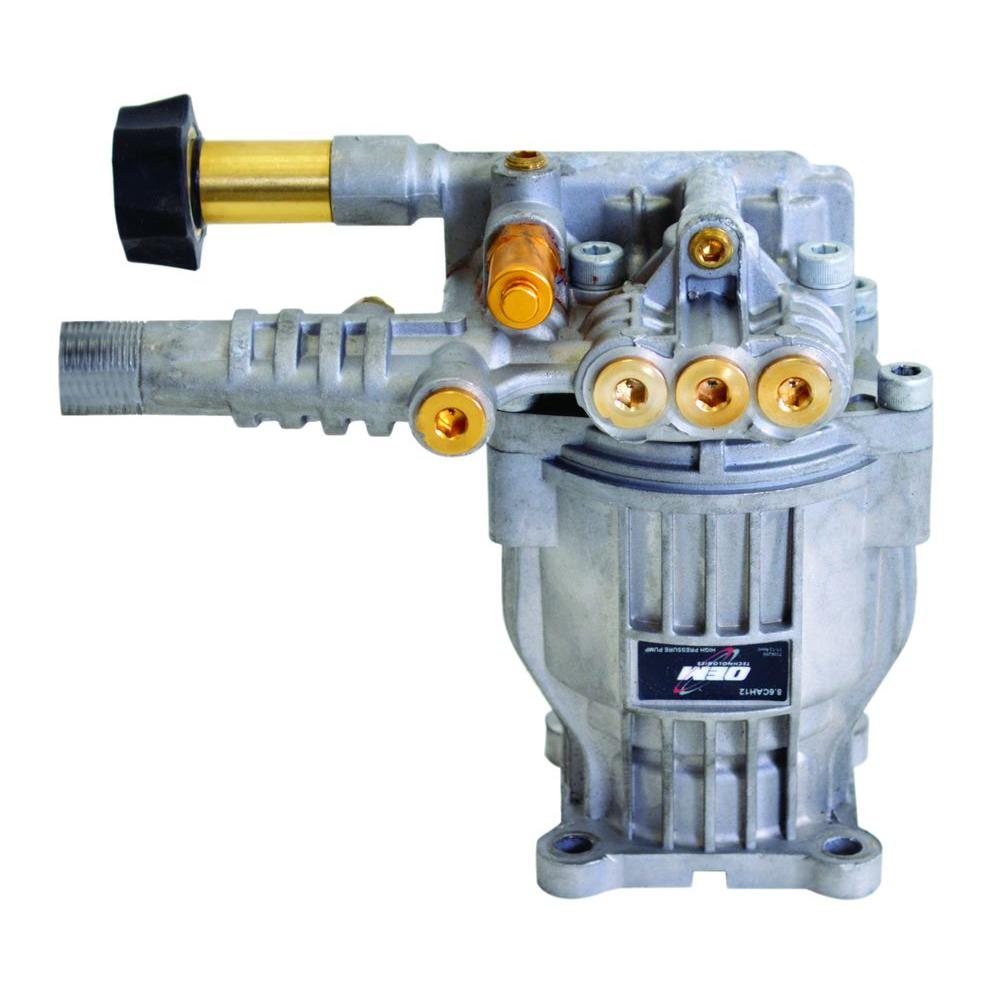 Simpson OEM Technologies 8 6CAH12A 3,000 psi 2 4 GPM Axial Cam Horizontal  Pump with Aluminum Head