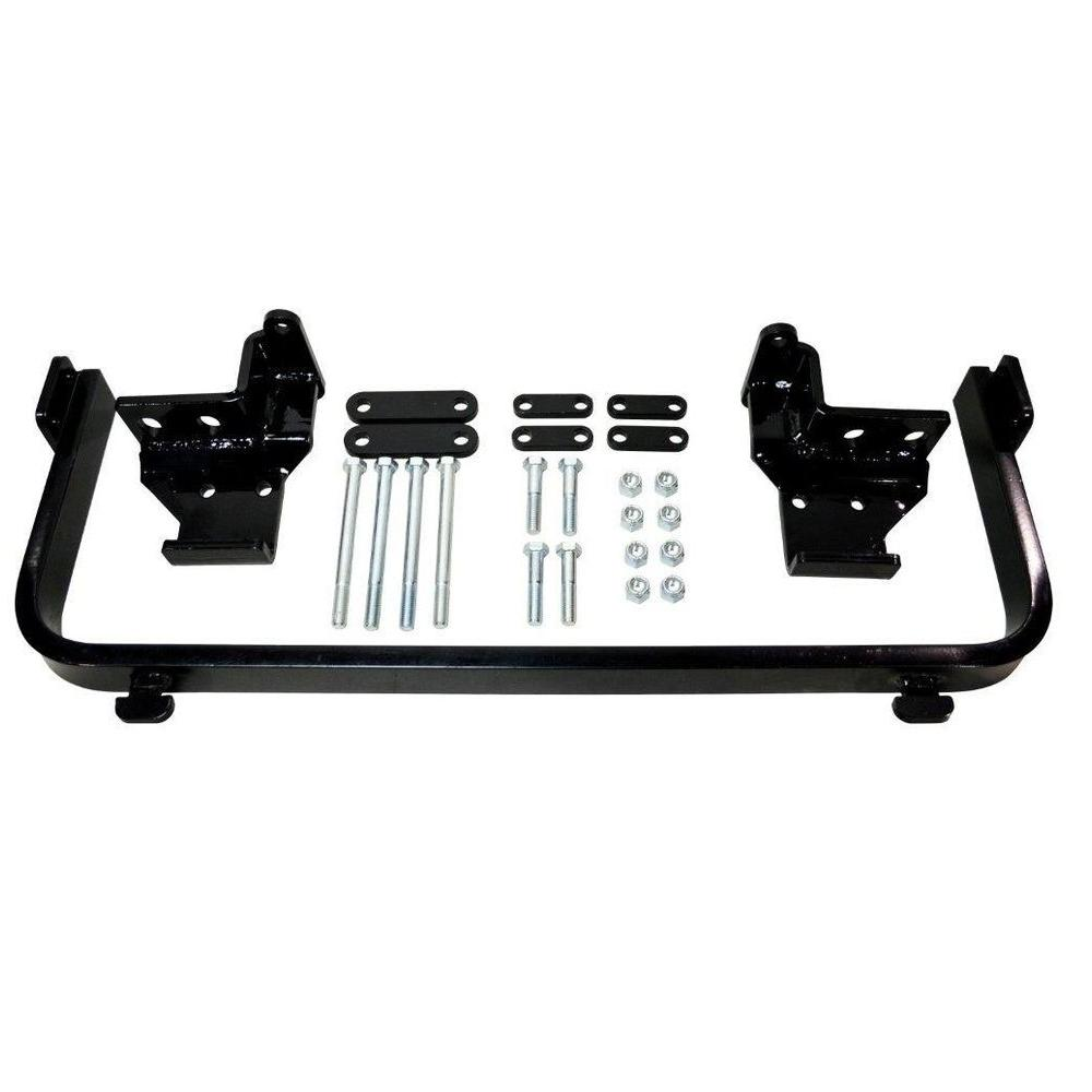detail k2 snow plow custom mount for nissan frontier pickup 2005-2012 and  xterra 2005