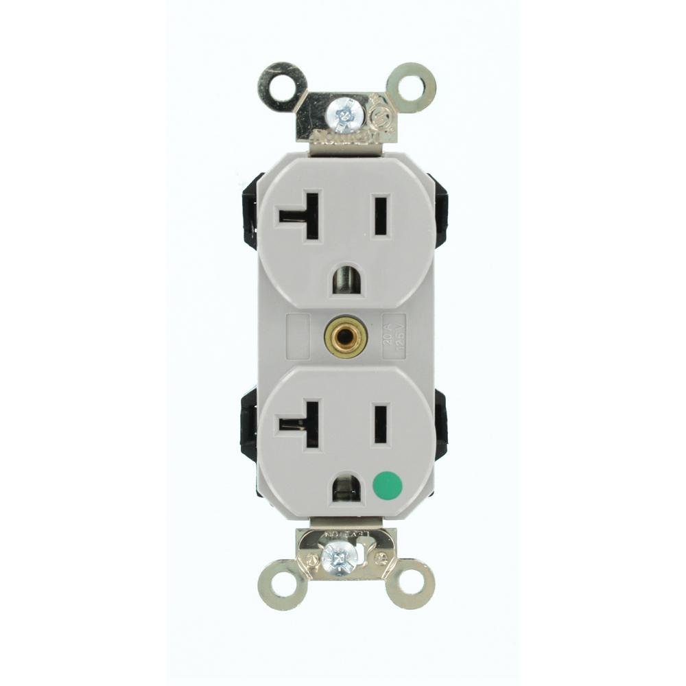 Leviton hospital grade duplex receptacle | Electrical Supplies ...