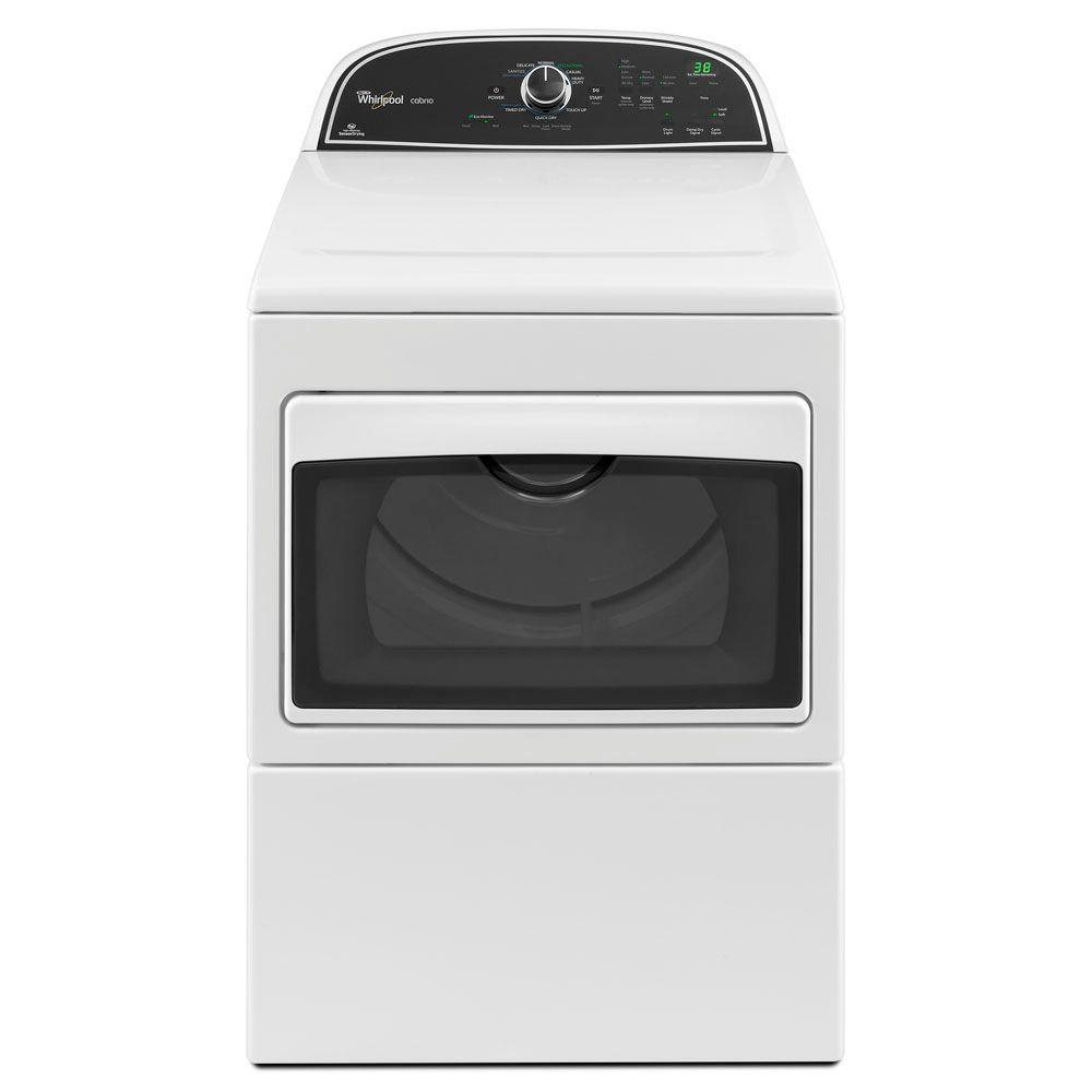 Whirlpool Cabrio 7.4 cu. ft. Gas Dryer in White