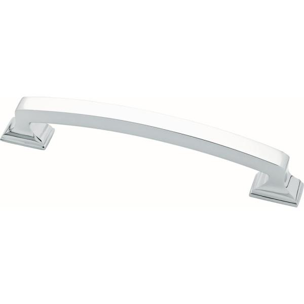 Classic Edge 5-1/16 in. (128mm) Center-to-Center Polished Chrome Drawer Pull