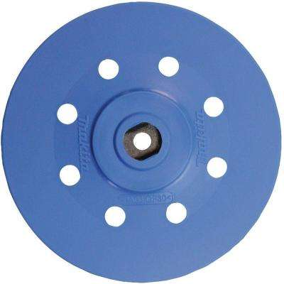 6 in. Hard Hook and Loop Round Backing Pad