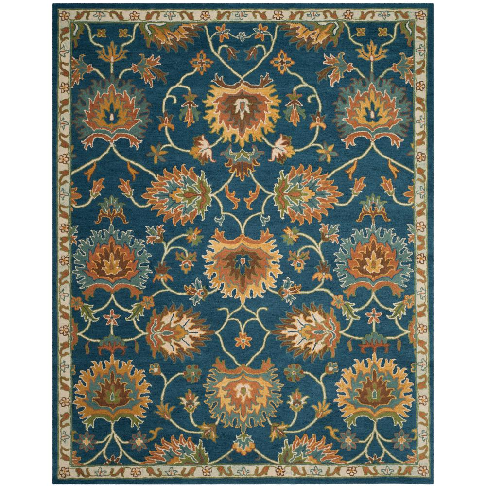 Safavieh Heritage Navy 8 Ft X 10 Area Rug