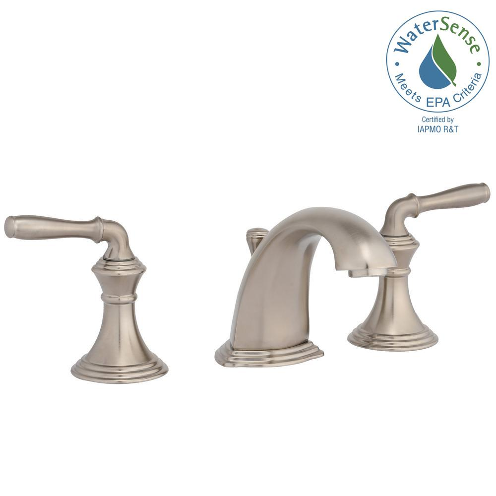 Kohler lavatory faucets Wrought Iron Widespread 2handle Lowarc Bathroom Faucet In Vibrant Brushed Nickel Home Depot Kohler Devonshire In Widespread 2handle Lowarc Bathroom Faucet