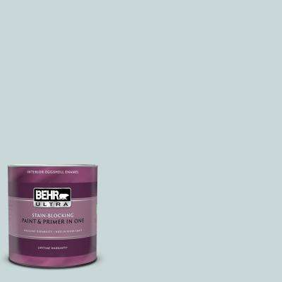 1 qt. #PPU13-16 Offshore Mist Eggshell Enamel Interior Paint and Primer in One